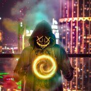 Neon Mask WhatsApp DP 17