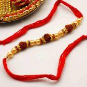 Rudraksha Rakhi 10